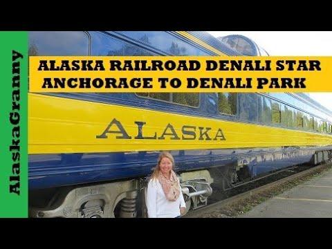 Alaska Railroad Denali Star Train Anchorage to Denali National Park