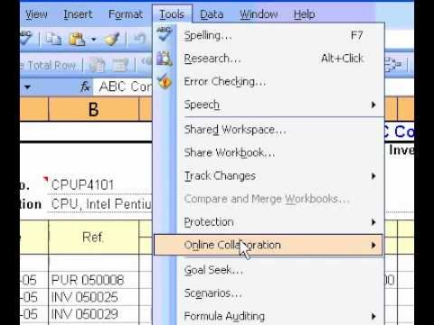 Microsoft Office Excel 2003 Change the separator for thousands and decimals