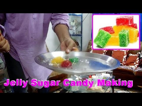 How to make gumdrops jelly sugar candy in hindi and enhlish.