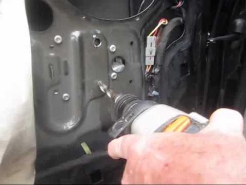 98 F 150 Power Window Motor Removal