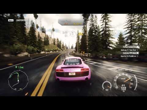Need For Speed: Rivals PC - Fully Upgraded Audi R8 V10 Coupe Gameplay - Chapter 4 part 2