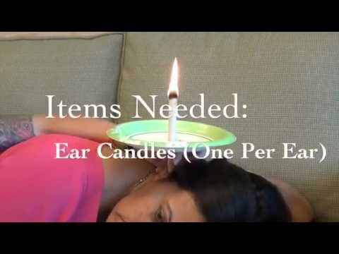 Ear Candling: A How-To Guide