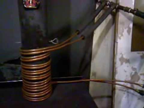 Homemade woodstove radiator