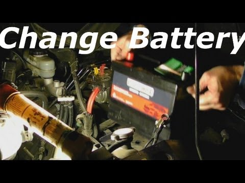 Change Battery Car or Truck