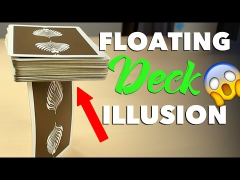 Magical Floating Deck Optical Illusion TUTORIAL