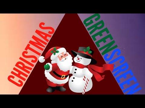CHRISTMAS GREEN SCREEN TRANSITION!
