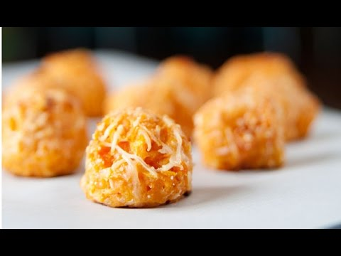 2 Ingredient Homemade Sweet Potato Tater Tots