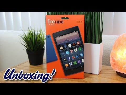 Unboxing: Amazon Fire HD 8 Tablet with Alexa (New for 2017)