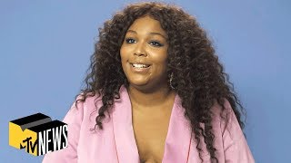 Download Lizzo on Her Iconic 'Juice' , Getting Stung By a Bee & Feeling Herself | MTV News Video