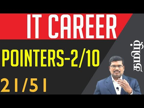 #21 Pointers and Linked List (Part-2) - Symbol Table || Guidelines for IT Candidates In Tamil