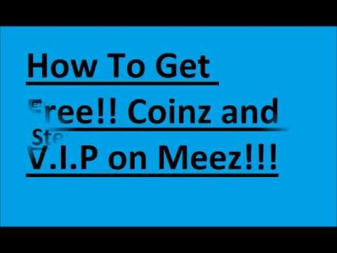 How To Get FREE V.I.P and Coinz on Meez!!!