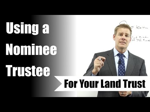 How To Use a Nominee Trustee
