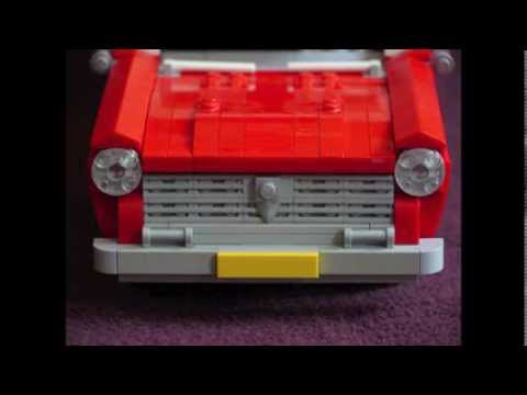 six cool LEGO cars