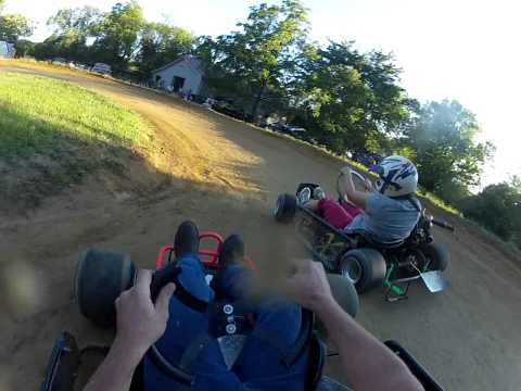 GoPro Back Yard Kart Racing