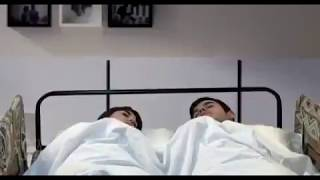 Funny Video || boy friend and girl sliping in bed room then come back husband