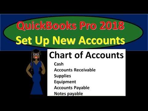 QuickBooks Pro 2018 Set up new account & Enter Opening Balances - New Version