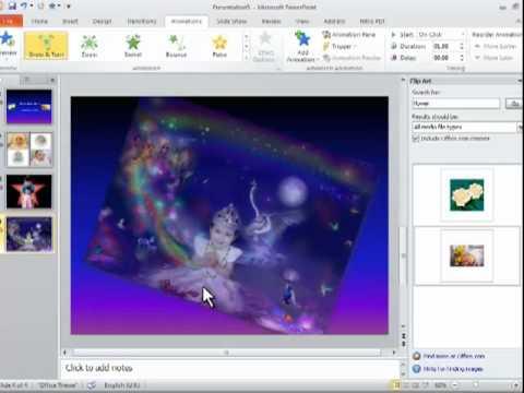 Creaet Photo Slide Show Album, Using Microsoft PowerPoint 2010