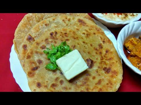 आलू-प्याज के स्वादिष्ट पराठे   Punjabi Dhaba Style Aloo Pyaaz Paratha Recipe   Aloo Paratha Recipe.