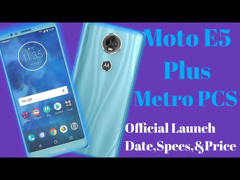 Moto E5 Plus Officially coming to metro pcs. Price,specs and Launch date included in video👍