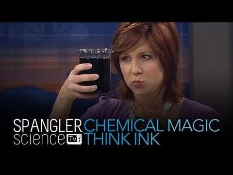 Chemical Magic - Think Ink - Cool Science Experiment