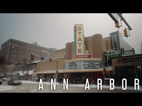 AMTRAK ACROSS AMERICA - Episode 13 (Snow Day in Ann Arbor)