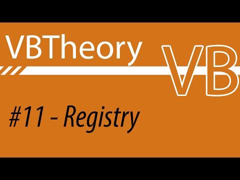 Edit And Create Registry Values - VB #11