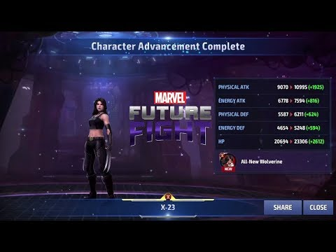 Marvel Future Fight Part 66 - X-23 To Tier 2. Let's Get Back To Having Fun!