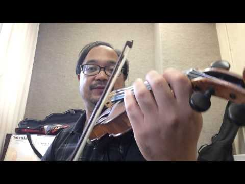 Jazz Lick 5: Grappelli Style Triplet grace note followed by triplet embellished scale
