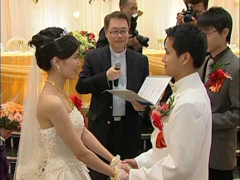 多伦多李永铿主婚人在紫爵金宴主持华人婚礼 - 多伦多专业婚礼照相录像师视频
