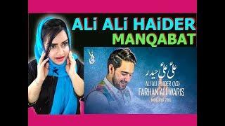 "Hindu Reacts ""ALi ALi HAiDER"" - علی علی حیدر -FARHAN ALI WARIS-New Exclusive MANQABAT 2018 REACTION "