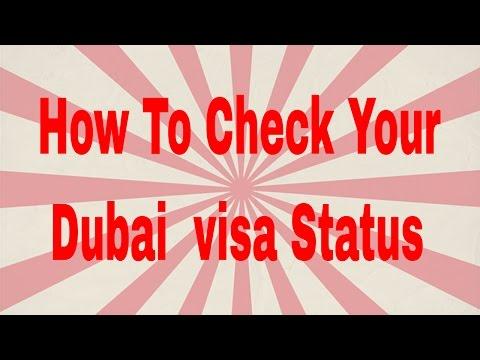 How To Check Your Dubai Visa Status