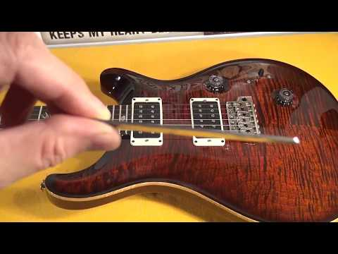 USA 2012 PRS Custom 24 Complete Set Up The Lady in Red is Back!