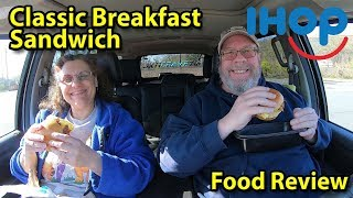 IHOP® | Classic Breakfast Sandwich | Taste Test & Review | JKMCraveTV