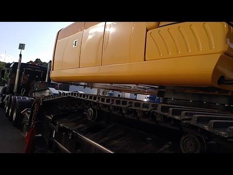 Heavy Haul TV: John Deere 290G LC -- 64,000 LB