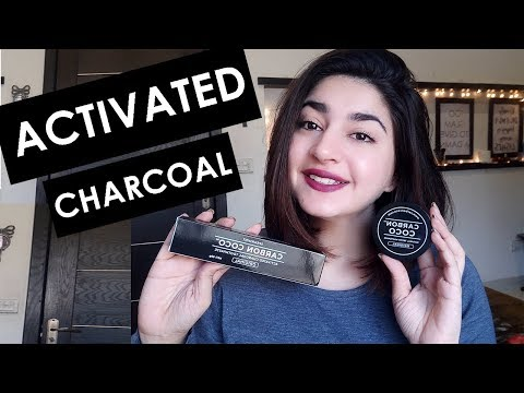 Naturally Whitening Teeth Using Activated Charcoal | CarbonCoco Review | Glossips