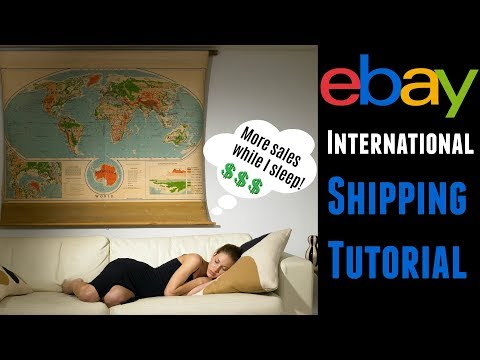 eBay Shipping Tutorial: International Shipping Without eBay Global Shipping Program GSP