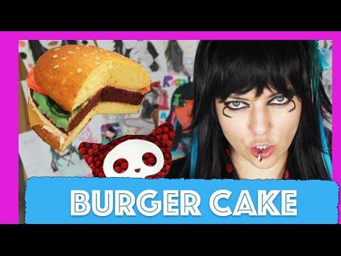 How to make BURGER CAKE - OlgaKay