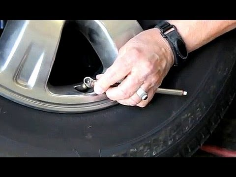 How To: Check Tire Pressure and Inflate Tires