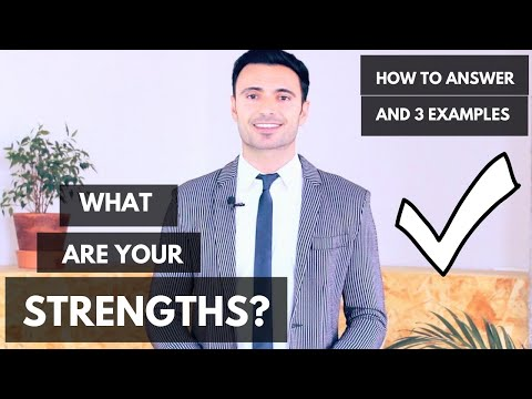 How to Answer:  What Are Your Greatest Strengths? (Job Interview Questions Guide + 3 Examples)