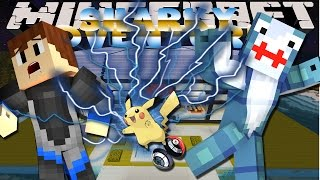 Minecraft Adventure - Sharky and Scuba Steve - PIXELMON IN BIKINI BOTTOM