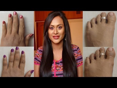 How to Lighten Knuckles and Toes Naturally!