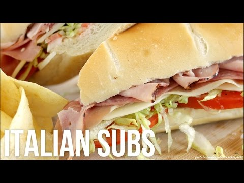 How to Make Italian Subs!! Homemade Deli-Style Hoagie/Grinder/Hero Sandwiches