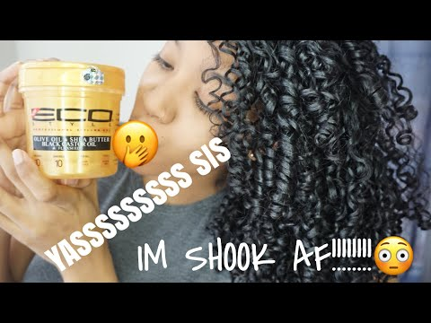 THE NEW ECO STYLER GOLD | Type 3 Natural Hair Wash & Go