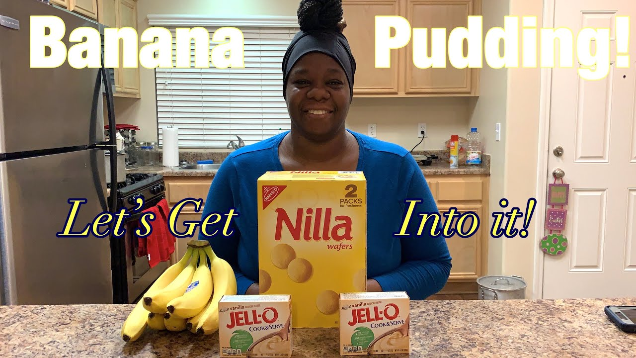 How to make the easiest recipe for Banana pudding