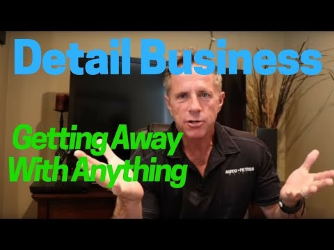 Detail Business: How to get away with anything!