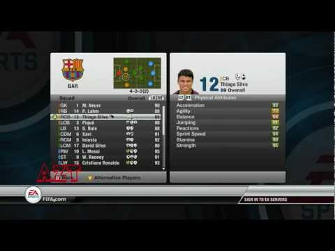 FIFA 12 Best Team possible in career mode