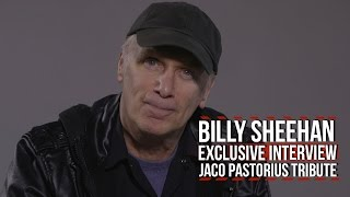 Billy Sheehan on Jamming With Jaco Pastorius