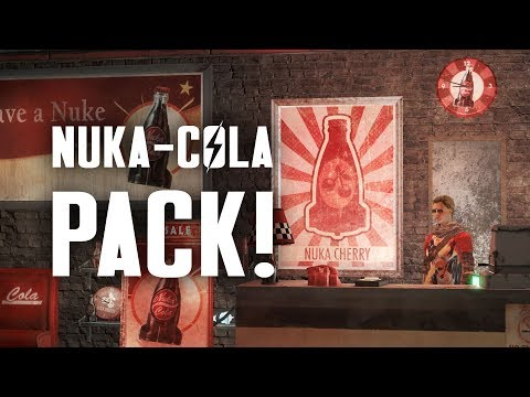 The Nuka Cola Pack: Nu Cafe Ola Player Home, Settlement Items, & Outfits - Fallout 4 Creation Club