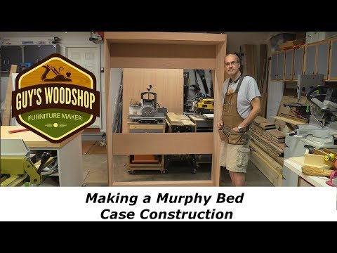 Murphy Bed - Making the Case/Frame - Woodworking How To Pt. 1