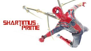 Download Hot Toys Iron Spider Avengers Infinity War Movie 1:6 Scale Spider-Man Action Figure Review Video